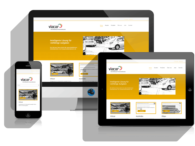Online services rieder viacar webdesign referenz online for Architect services online